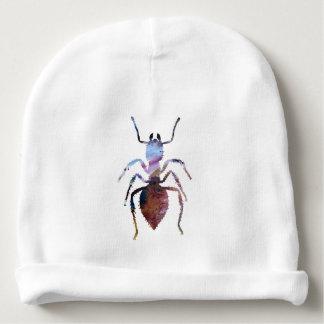 Ant art baby beanie