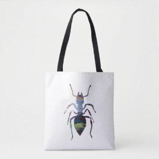 Ant art tote bag