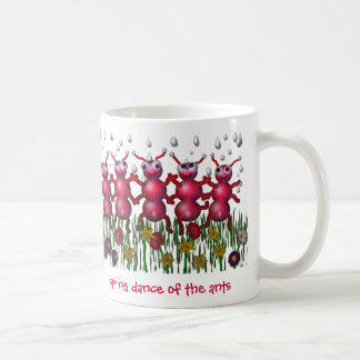 ant dance coffee mug
