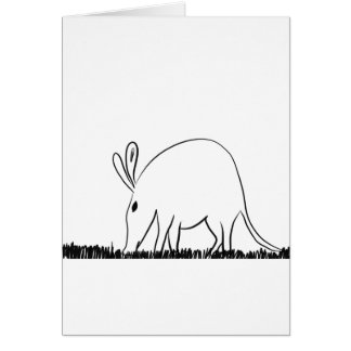 Ant eater card