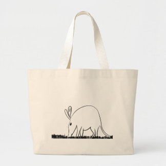 Ant eater large tote bag