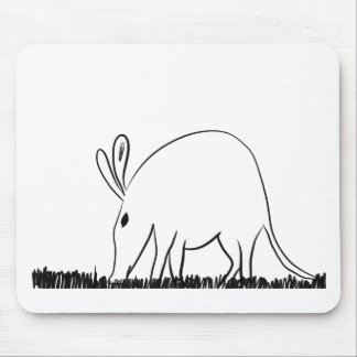 Ant eater mouse pad