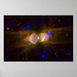 Ant Nebula IR 18x12 (20x16) Poster