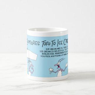 Ant, Tofu, and Ice Cream Coffee Mug