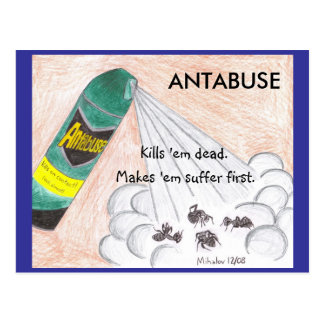 ANTABUSE postcard