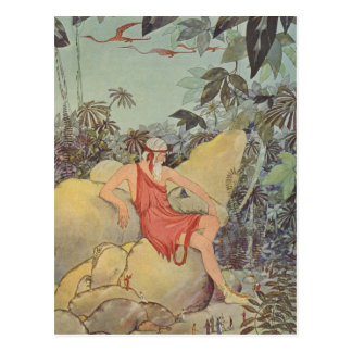 Antaeus and the Pygmies Postcard