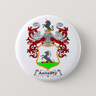 Antalffy Family Hungarian Coat of Arms 2 Inch Round Button
