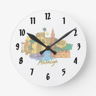 antalya travel vacation image.png wallclock
