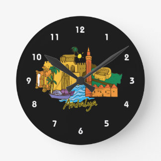 antalya travel vacation image.png wallclocks