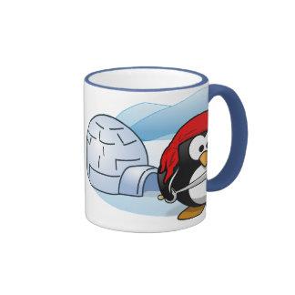 Antarctic Pitate Penguin Ringer Mug