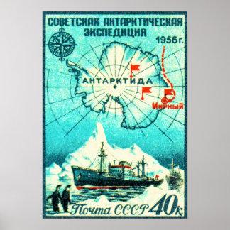 Antarctica 1956 poster