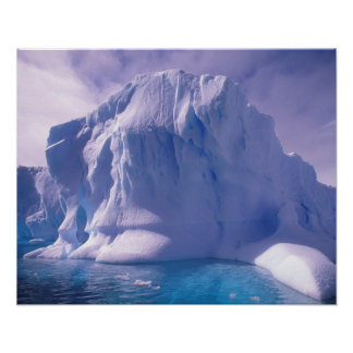 Antarctica. Antarctic icescapes Poster