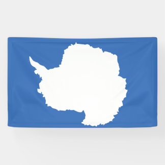Antarctica Flag Banner