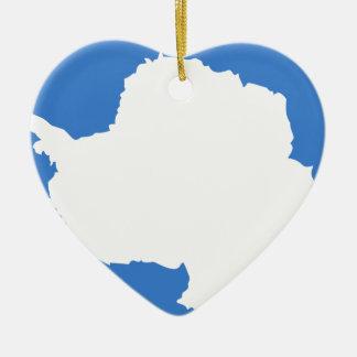 Antarctica Flag Ceramic Ornament