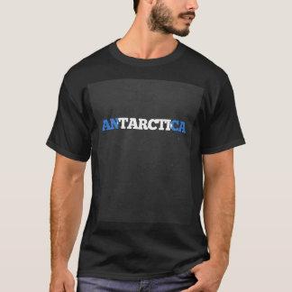 Antarctica flag font T-Shirt