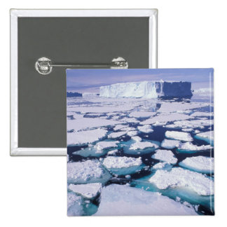 Antarctica, Ice flow. 2 Inch Square Button