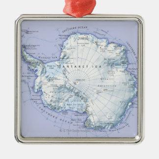 Antarctica Metal Ornament