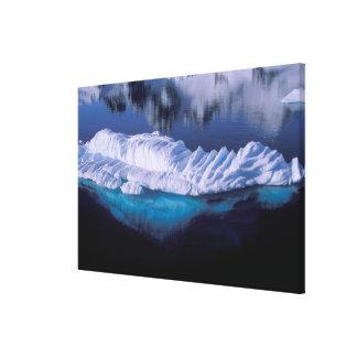 Antarctica, Paradise Bay. Iceberg in crystal Canvas Print