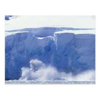 Antarctica, Paradise Bay, Massive wave forms Postcard