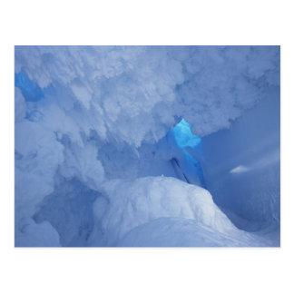 Antarctica, Ross Island, Cape Evans, Snow cave Postcard