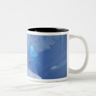 Antarctica, Ross Island, Cape Evans, Snow cave Two-Tone Coffee Mug