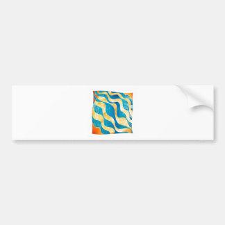 Antaressia - blue sun bumper sticker
