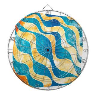 Antaressia - blue sun dartboard