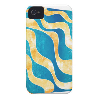 Antaressia - blue sun iPhone 4 case