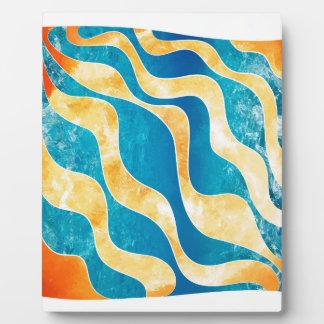 Antaressia - blue sun plaque