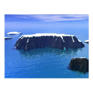 antartica 3000AD Postcard