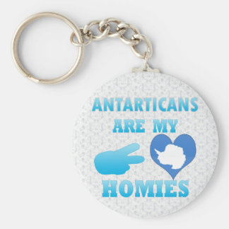 Antarticans are my Homies Keychain