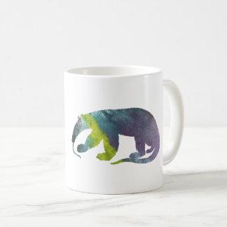 Anteater art coffee mug