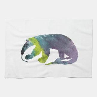 Anteater art kitchen towel