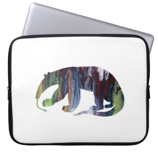 Anteater art laptop computer sleeves