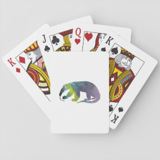 Anteater art playing cards
