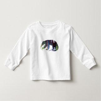 Anteater art toddler t-shirt