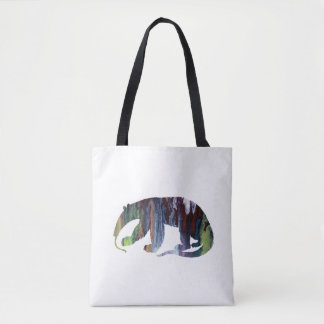 Anteater art tote bag