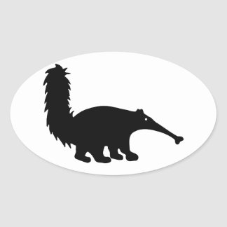 Anteater Oval Sticker