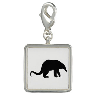 Anteater Silhouette Photo Charms