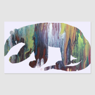 Anteater silhouette sticker