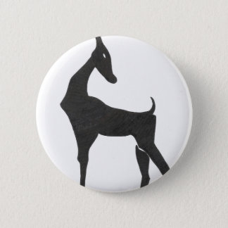 Antelope 2 Inch Round Button