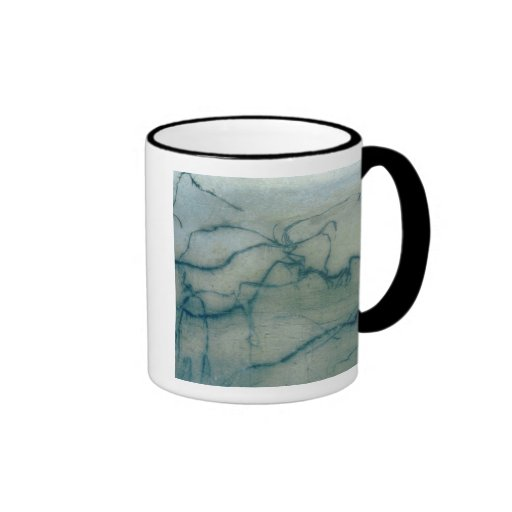 Antelope and bison, Perigordian (cave painting) Coffee Mugs