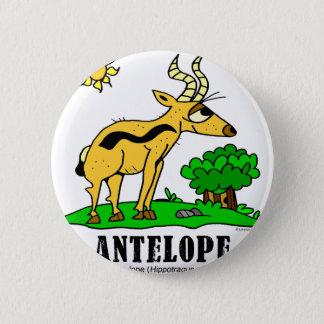 Antelope by Lorenzo Traverso 2 Inch Round Button