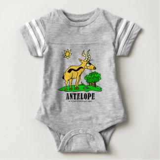 Antelope by Lorenzo Traverso Baby Bodysuit