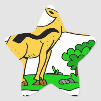Antelope by Lorenzo Traverso Star Sticker