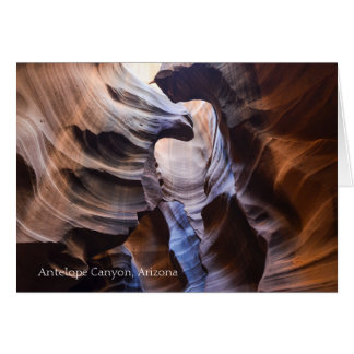 Antelope Canyon Arizona Beautiful Anniversary Card