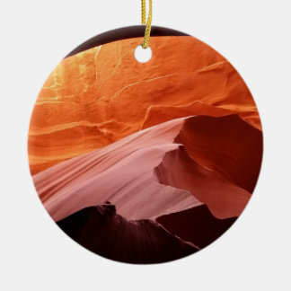 Antelope Canyon Ceramic Ornament