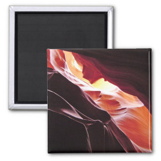 Antelope Canyon, Page Arizona Square Magnet