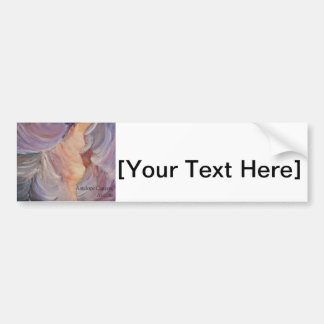 antelope canyon painting in oil bumper sticker
