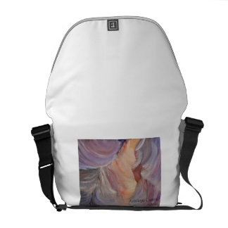 antelope canyon painting in oil commuter bags